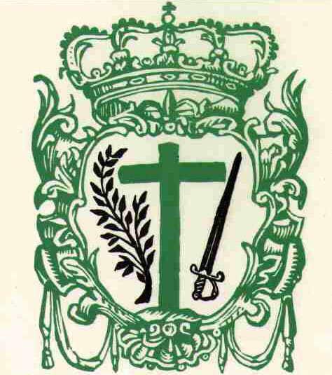 escudo inquisición cruz verde